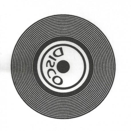 Motif flex disco noir