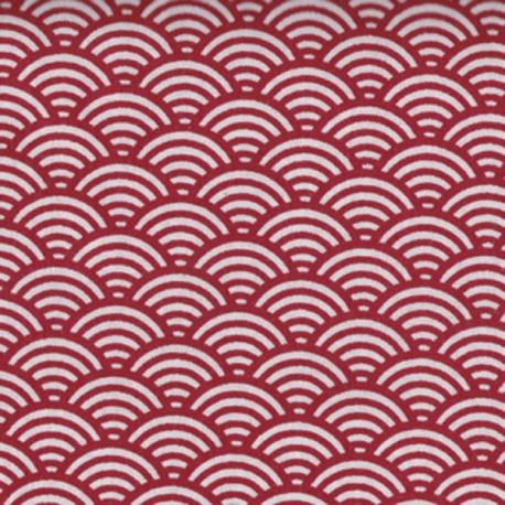 Cretonne sushis rouge