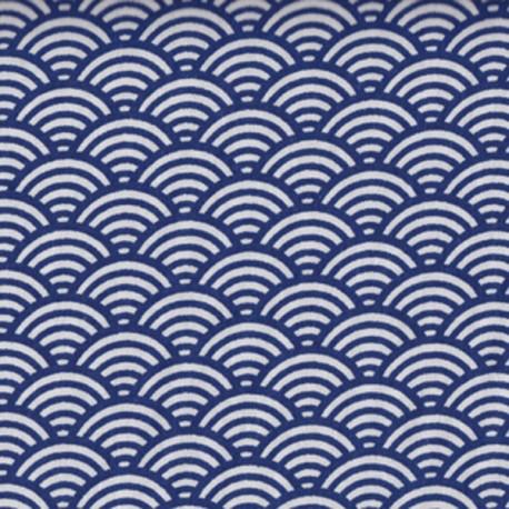 Cretonne sushis bleue