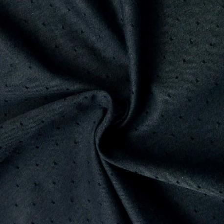 Chambray bio raw dots carbone