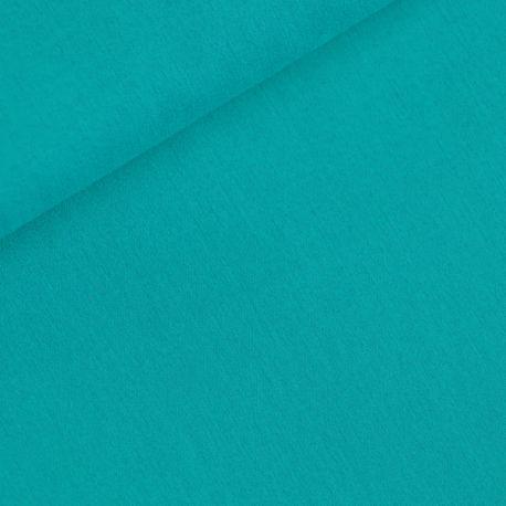 Coton uni turquoise