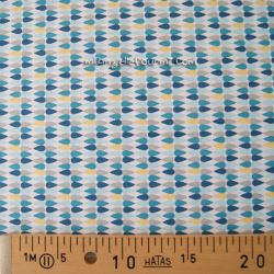 Coton plima bleu