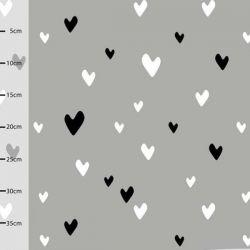 Jersey bio Hearts gris