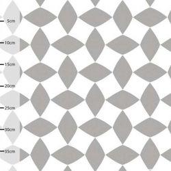 Jersey bio salmiac gris/blanc