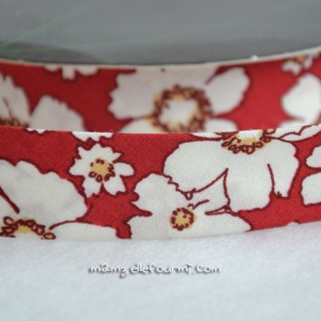 Biais flower rouge
