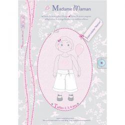 Jupe-culotte Manon 2-4 ans