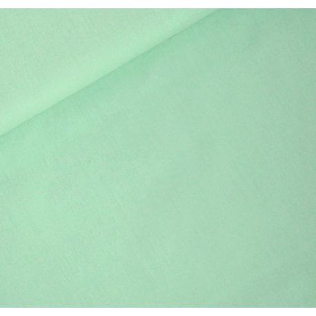 Coton uni vert pastel