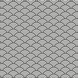 Cretonne sushis gris foncé
