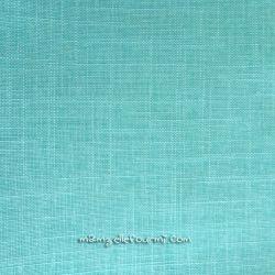 Lin/coton enduit mint