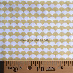 Coton écailles jaune
