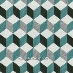 Jacquard Gustave turquoise