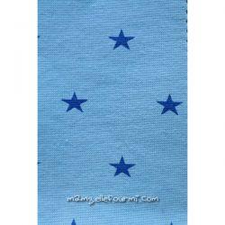 Bord-côte étoiles bleu