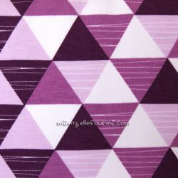 Sweat triangles violet