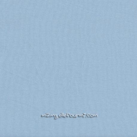 Jersey stretch bleu ciel