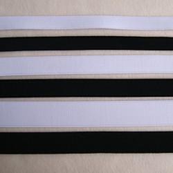 Élastique côtelé 15mm