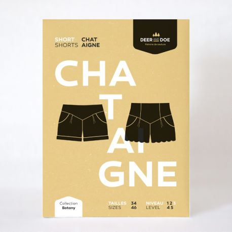 Patron short Chataigne