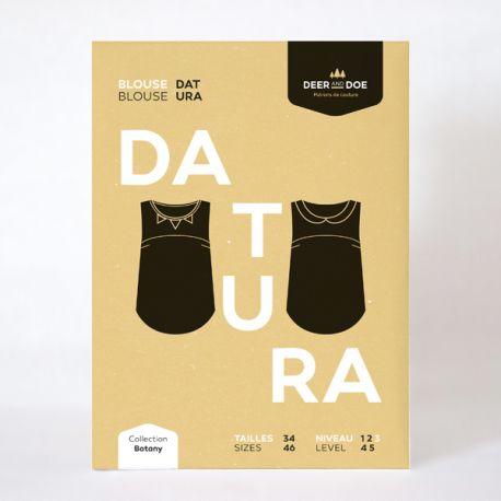 Patron blouse Datura
