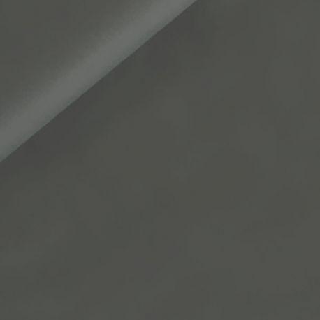 Coton uni gris fer