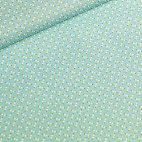 Coton marching marbles turquoise pastel