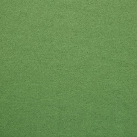 Bord-côte bio vert pomme chiné