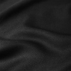 Crêpe de viscose black