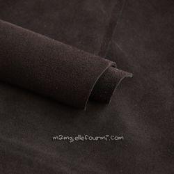 Croute de cuir chocolat