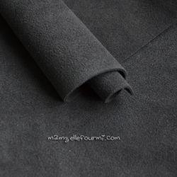 Croute de cuir gris