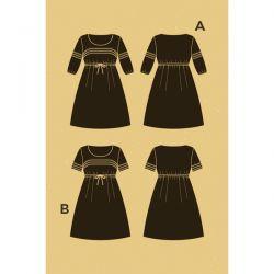 Patron robe Aubépine