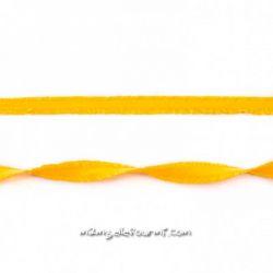 Élastique à double volant jaune