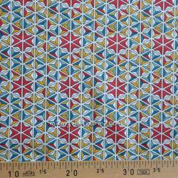 Cretonne mozaik multicolore