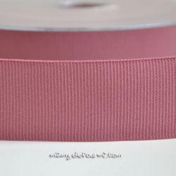 Gros grain élastique 36mm Frou-Frou vieux rose