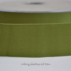 Gros grain élastique 36mm Frou-Frou vert