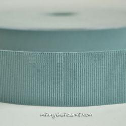 Gros grain élastique 36mm Frou-Frou bleu acier