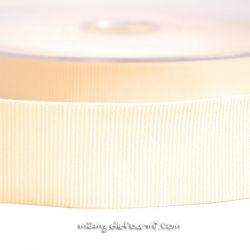 Gros grain élastique 36mm Frou-Frou écru