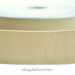Gros grain élastique 36mm Frou-Frou beige