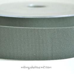 Gros grain élastique 36mm Frou-Frou gris