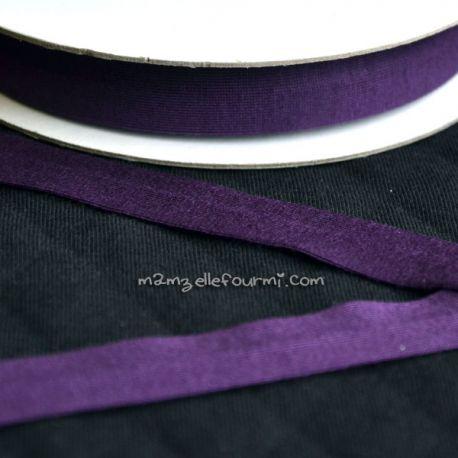 Biais jersey viscose violet