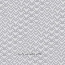 Cretonne sushis gris clair