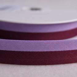 Biais bicolore violet