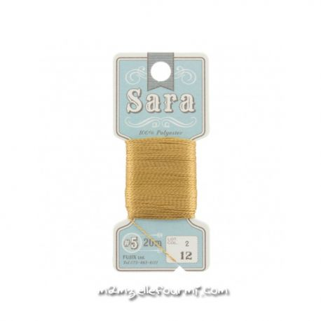 Fil à broder Sara coloris 12