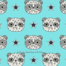 Jersey panda faces