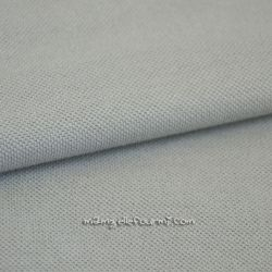 Maille polo gris clair