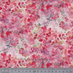 Coton feuillu rose