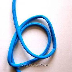 Cordon lycra turquoise