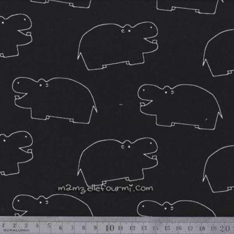 Jersey hippo noir