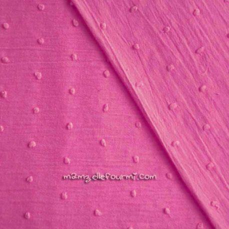 Plumetis rose vif