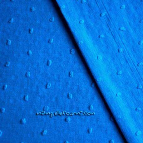 Plumetis bleu roi