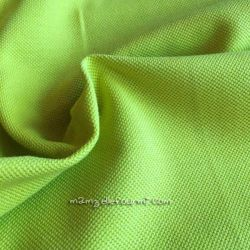 Maille polo lime