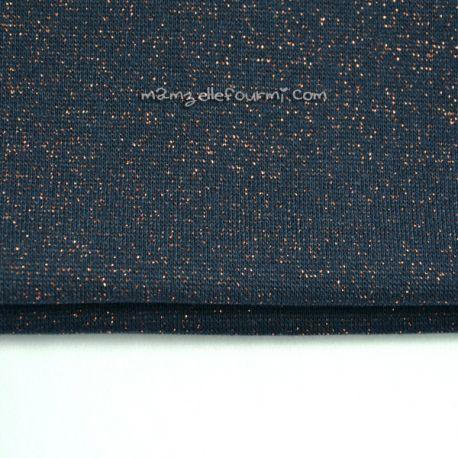 Bord-côte marine lurex bronze
