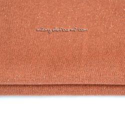 Bord-côte bronze lurex bronze